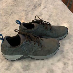 Merrell Shoes - Grey Suede Sneakers